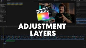 Adjustment layers in Final Cut Pro X